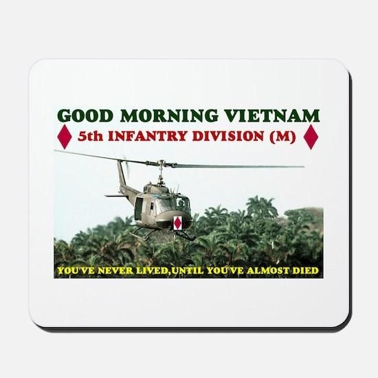 5th INFANTRY DIV VIETNAM Mousepad