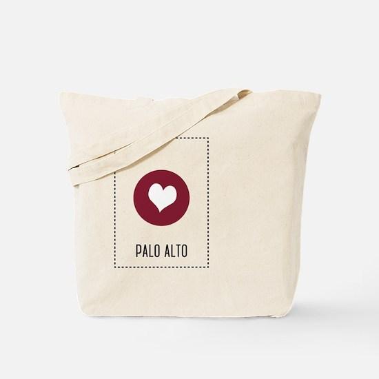 I Love Palo Alto Tote Bag