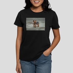 Yorkshire Terrier on the Beach at Hilton Head T-Sh