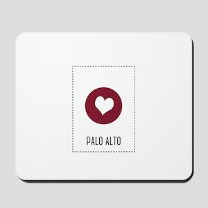 I Love Palo Alto Mousepad