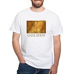 Golden White T-Shirt