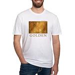 Golden Fitted T-Shirt