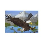 Treetop Landing: Rectangle Magnet (100 pack)