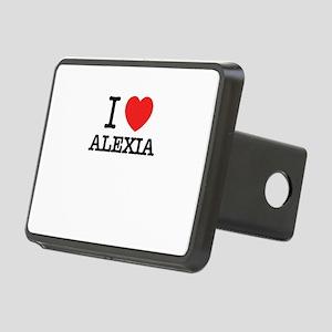 I Love ALEXIA Rectangular Hitch Cover