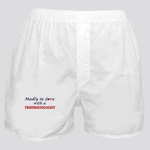 Madly in love with a Traumatologist Boxer Shorts