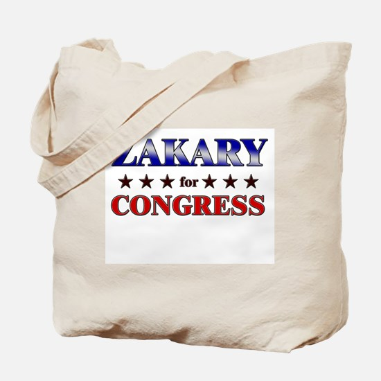ZAKARY for congress Tote Bag