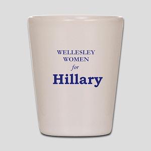 Wellesley4Hil Shot Glass