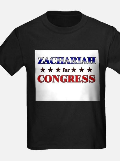 ZACHARIAH for congress T