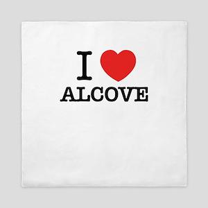 I Love ALCOVE Queen Duvet