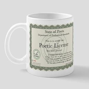 Poetic License Mug