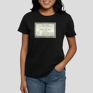 Poetic License Women's Dark T-Shirt