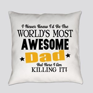 Awesome Dad Everyday Pillow