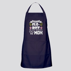 Some People Call Me Florist T Shirt Apron (dark)