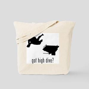 High Dive Tote Bag