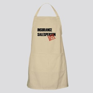 Off Duty Insurance Salesperso BBQ Apron