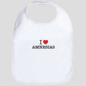 I Love AMNESIAS Bib