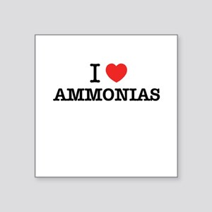 I Love AMMONIAS Sticker
