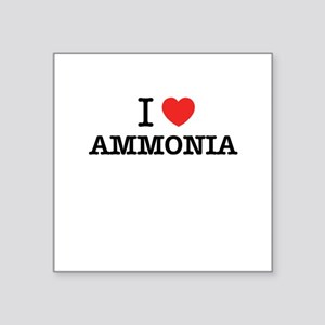 I Love AMMONIA Sticker