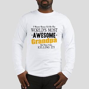 Awesome Grandpa Long Sleeve T-Shirt