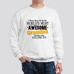 Awesome Grandpa Sweatshirt