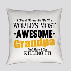 Awesome Grandpa Everyday Pillow