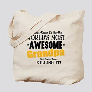 Awesome Grandpa Tote Bag