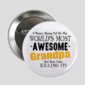 """Awesome Grandpa 2.25"""" Button"""