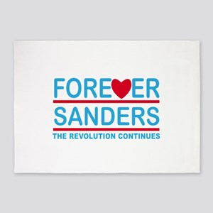 Forever Sanders, the Revolution Continues 5'x7'Are
