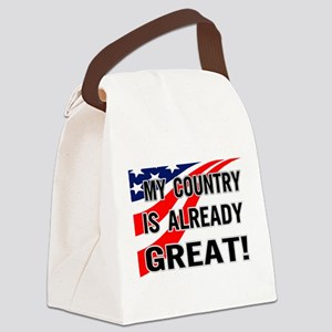 already great! Canvas Lunch Bag