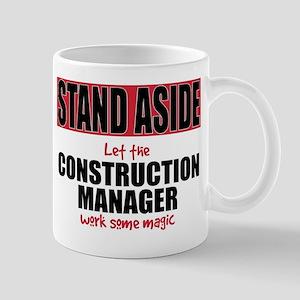 Construction Manager Mugs