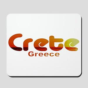 Crete, Greece Mousepad