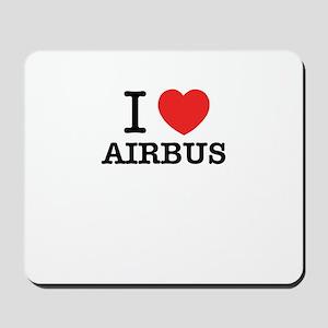 I Love AIRBUS Mousepad