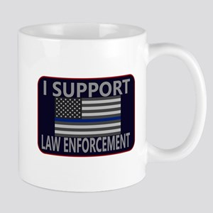 I Support Law Enforcement Mug