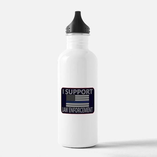 I Support Law Enforcem Water Bottle