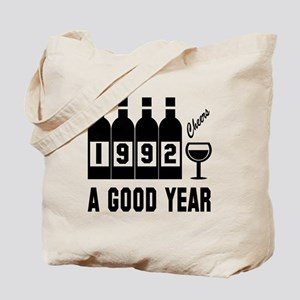 1992 A Good Year, Cheers Tote Bag