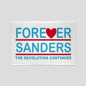 Forever Sanders, the Revolution Continues Magnets