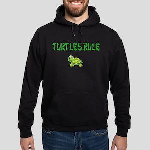 Turtles Rule Hoodie (dark)