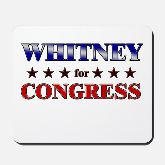 WHITNEY for congress Mousepad