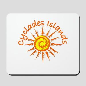 Cyclades Islands, Greece Mousepad