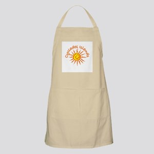 Cyclades Islands, Greece BBQ Apron