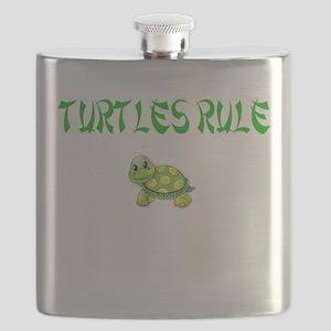 Turtles Rule Flask