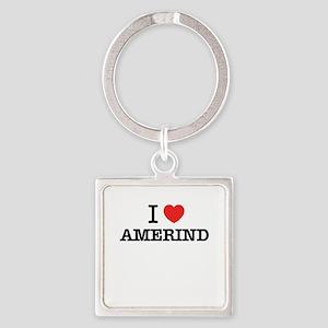 I Love AMERIND Keychains