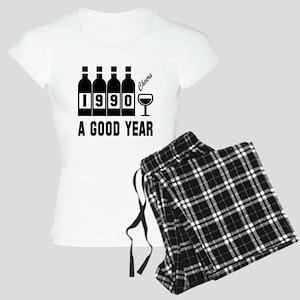 1990 A Good Year, Cheers Women's Light Pajamas