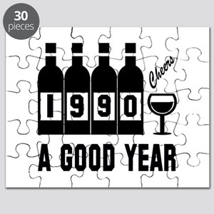 1990 A Good Year, Cheers Puzzle