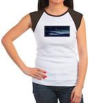 Saturn View Women's Cap Sleeve T-Shirt