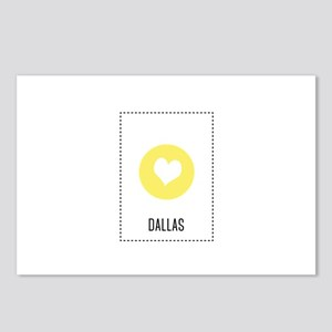 I Love Dallas Postcards (Package of 8)