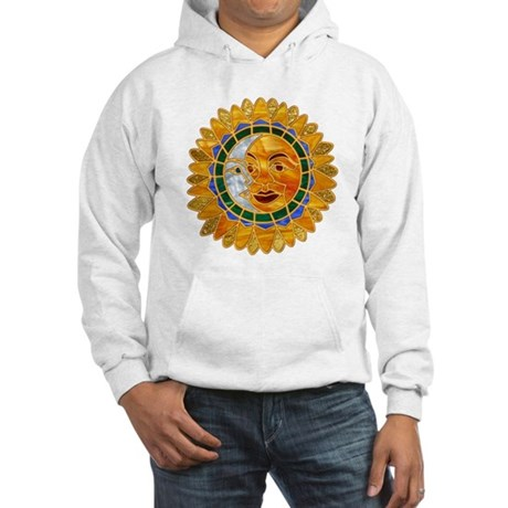 Sun Moon Celestial Hooded Sweatshirt