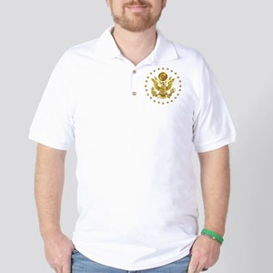 Gold Presidential Seal, The White House Golf Shirt