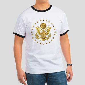 Gold Presidential Seal, The White House Ringer T