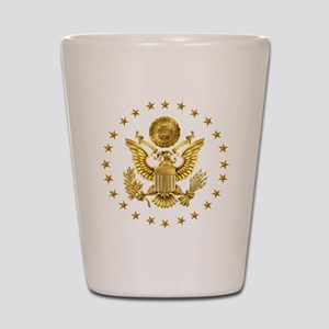 Gold Presidential Seal, The White House Shot Glass